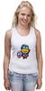 """Майка классическая """"Captain America Minions """" - кэп, мстители, миньоны, капитан америка, captain america"""