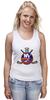 """Майка (Женская) """"Нью-Йорк Айлендерс"""" - хоккей, nhl, нхл, нью-йорк айлендерс, new york islanders"""