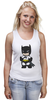 "Майка (Женская) ""Batman"" - batman, бэтмен"