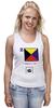 "Майка (Женская) ""Zulu (Z), флаг МСС (eng) "" - море, флаг, мсс, boatstyle, яхтринг"