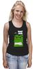 "Майка (Женская) ""ФитПит.рф - Спортивное питание"" - спорт, фитнес, hulk, халк, кросфит"