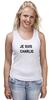 """Майка классическая """"JE SUIS CHARLIE"""" - france, франция, шарли, je suis charlie, i am charlie"""