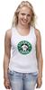 "Майка классическая ""Starman Coffee "" - пародия, кофе, starbucks, старбакс, starman"