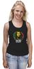 "Майка (Женская) ""Bob Marley"" - регги, боб марли, bob marley, reggae, ска"