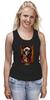 "Майка классическая ""Blessed prayer"" - арт, девушка, tattoo, крест, тату, молитва, sugar skull"