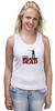 "Майка классическая ""The Walking Dead"" - зомби, ходячие мертвецы, the walking dead, рик граймс, rick grimes"