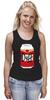 """Майка (Женская) """"Пиво Дафф (Duff Beer)"""" - пиво, симпсоны, гомер симпсон, the simpsons, duff beer, пиво дафф"""