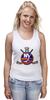 """Майка классическая """"Нью-Йорк Айлендерс """" - хоккей, nhl, нхл, нью-йорк айлендерс, new york islanders"""