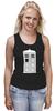 "Майка классическая ""Tardis (Тардис)"" - сериал, doctor who, tardis, доктор кто, тардис, машина времени, телефонная будка, time machine, phone box"