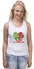 """Майка классическая """"GO VEGGIE!"""" - вегетарианец, сыроед, овощи, veggies"""
