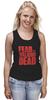 """Майка (Женская) """"Ходячие Мертвецы (The Walking Dead)"""" - страх, fear, ходячие мертвецы, the walking dead"""
