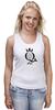 """Майка классическая """"Open Water Queen"""" - бег, соревнования, плавание, марафон, триатлон"""