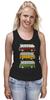 """Майка (Женская) """"Светофор"""" - авто, pixel, автомобиль, путешествие, travel, пиксель арт, pixel art, пиксель-арт, rome, paris"""