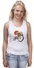 "Майка (Женская) ""Star Wars"" - star wars, bicycle, велосипед, bike, stormtrooper, звёздные войны, штурмовик"