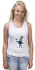 """Майка (Женская) """"Bugs Bunny_man"""" - fun, nice"""