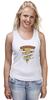 "Майка (Женская) ""Пицца Навсегда (Pizza Forever)"" - пицца, pizza"