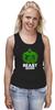 """Майка (Женская) """"ФитПит.рф - Спортивное питание"""" - спорт, фитнес, кросфит, майка для спорта, beast mode"""