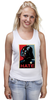 "Майка (Женская) ""Darth Vader - Hate"" - star wars, darth vader, звездные войны, дарт вейдер"