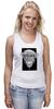 "Майка (Женская) ""Monkey"" - арт, дизайн, графика, обезьяна, monkey"