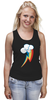 """Майка (Женская) """"Rainbow Dash Cutie Mark"""" - арт, rainbow dash, rainbow, выделись из толпы"""