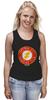 "Майка (Женская) ""The Flash"" - flash, супергерои, молния, dc комиксы, флэш"