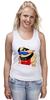 """Майка классическая """"Sumo Girl"""" - прикол, супер, девушка, классно, спорт, стиль, girl, рисунок, логотип, sumo"""