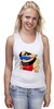 "Майка (Женская) ""Sumo Girl"" - прикол, супер, девушка, классно, спорт, стиль, girl, рисунок, логотип, sumo"