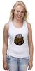 """Майка классическая """"Russian Bear (Русский медведь)"""" - bear, медведь, россия, russia, путин"""
