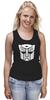 """Майка классическая """"Transformers Autoboats team"""" - роботы, transformers, трансформеры, автоботы, мульфильм"""