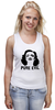 "Майка классическая ""Pure Evil"" - граффити, дизайн, винтаж, марлен дитрих, pure evil"