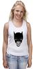 """Майка (Женская) """"Бэтмен и Джокер"""" - joker, batman, джокер, бэтмен"""