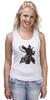 "Майка (Женская) ""Mortal Kombat"" - скорпион, mortal kombat, смертельная битва, мортал комбат, scorpion"