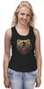 """Майка (Женская) """"Пиксельный Медведь"""" - bear, медведь, pixel art, пиксели, 8 бит"""