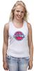 "Майка (Женская) ""Detroit Pistons"" - баскетбол, nba, detroit, нба, detroit pistons, детройт пистонс"