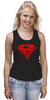 """Майка (Женская) """"ФитПит.рф - Спортивное питание"""" - спорт, superman, фитнес, кросфит"""