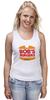 """Майка (Женская) """"Закусочная Боба (Bob's Burgers)"""" - закусочная боба, bobs burgers"""