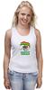 """Майка (Женская) """"Единая Гвинея"""" - смешно, политика, прикольные футболки, пжив"""