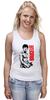 "Майка (Женская) ""Bruce Lee"" - karate, bruce lee, fighter, карате, брюс ли"