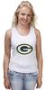 "Майка (Женская) ""Green Bay Packers"" - nfl, американский футбол, green bay packers, грин-бей пэкерс"
