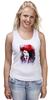 """Майка классическая """"Marilyn Manson"""" - портрет, акварель, менсон, marilyn, manson"""