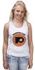 """Майка классическая """"Philadelphia Flyers"""" - спорт, хоккей, nhl, нхл, филадельфия флайерз"""