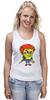"""Майка (Женская) """"Chucky Killer"""" - убийца, spongebob, чаки, chucky"""