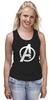 """Майка (Женская) """"Мстители (The Avengers)"""" - hulk, marvel, мстители, железный человек, iron man, халк, the avengers"""
