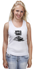 "Майка (Женская) ""World of Tanks"" - игра, game, world of tanks, танки, wot"