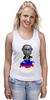 "Майка классическая ""Putin"" - россия, russia, путин, президент, putin"