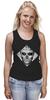 "Майка (Женская) ""Rick Genest"" - tattoo, тату, zombie boy, skull boy, rico the zombie, рик дженест, парень зомби"