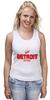"Майка классическая ""Detroit Red Wings"" - хоккей, nhl, нхл, detroit red wings, детроит ред вингз"