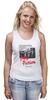 """Майка классическая """"Pulp Fiction"""" - винтаж, тарантино, криминальное чтиво, pulp fiction, kinoart"""