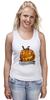 "Майка (Женская) ""Helloween"" - хэллоуин, helloween"