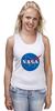 "Майка (Женская) ""Свитшот NASA "" - nasa, наса"
